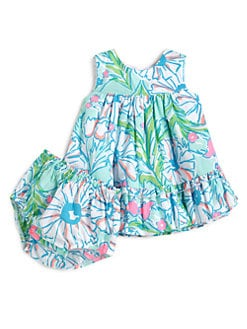 Lilly Pulitzer Kids - Infant's Baby Caldwell Dress & Bloomers Set