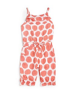 DKNY - Infant's Daytrip Polka Dot Romper