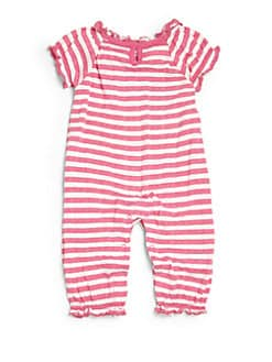 Splendid - Infant's Striped Pointelle Playsuit