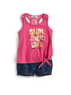 DKNY - Infant's Summer Love Two-Piece Tank Top & Shorts Set