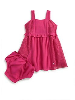 DKNY - Infant's Sunny Day Dress & Bloomers Set