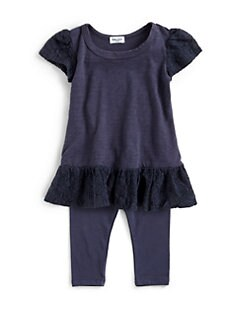 Splendid - Infant's Two-Piece Peplum Tunic & Leggings Set