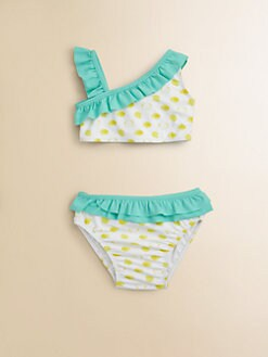 Egg Baby - Infant's Ruffled Two-Piece Swimsuit
