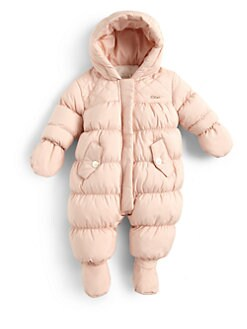 Chloe - Infant's Puffer Snowsuit