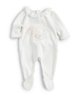 Chloe - Infant's Ruffle Collar Footie
