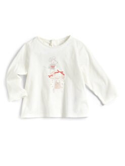 Chloe - Infant's Cotton Mouse Tee