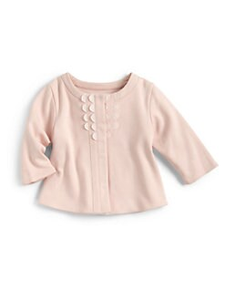Chloe - Infant's Scalloped Cardigan