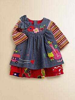 Catimini - Infant's Layered-Look Chambray Dress