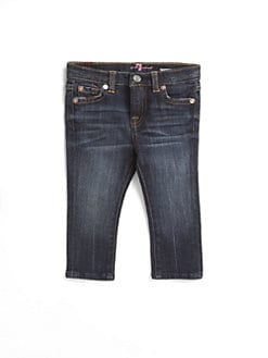 7 For All Mankind - Infant's Dark-Denim Jeans