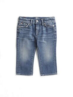 7 For All Mankind - Infant's Distressed-Pocket Jeans