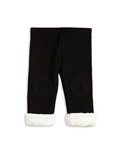Plush - Infant's Faux Fur Jeggings