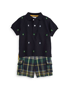 Hartstrings - Infant's Embroidered Polo Shirt