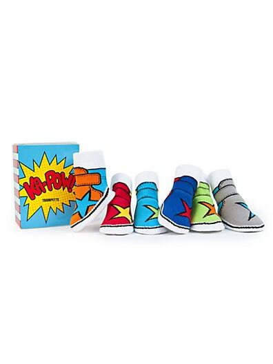 Infant's Six-Piece High-Top Sock Set