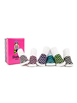 Trumpette - Infant's (0-12 mo) Low-Top Sneaker Sock Set