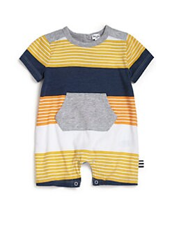 Splendid - Infant's Striped Slub-Jersey Coverall
