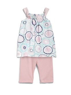 Splendid - Infant's Two-Piece Kaleidoscope-Print Tank & Solid Leggings Set