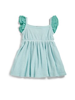 Splendid - Infant's Ruffle-Trim Cotton Tank Dress