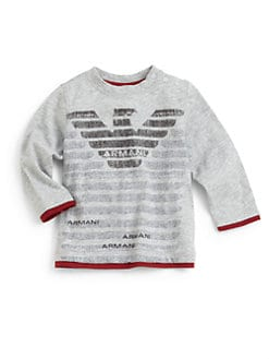 Armani Junior - Infant's Layered-Look Logo Tee