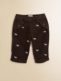 Hartstrings - Infant's Embroidered Corduroy Pants