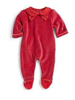 Little Marc Jacobs - Infant's Velour Footie