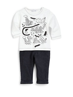 Little Marc Jacobs - Infant's Letter City Tee
