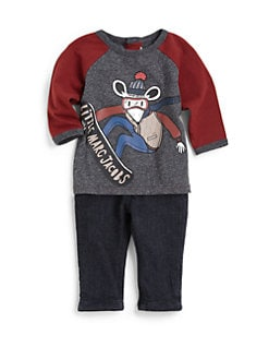 Little Marc Jacobs - Infant's Raglan Tee