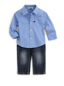 Armani Junior - Infant's Button-Down Shirt