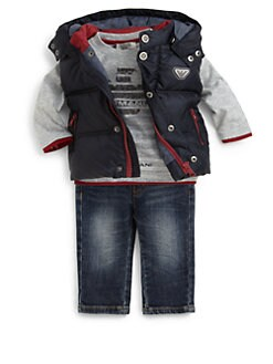 Armani Junior - Infant's Baby Puffer Vest
