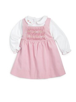Florence Eiseman - Infant's Pleat-Front Corduroy Jumper