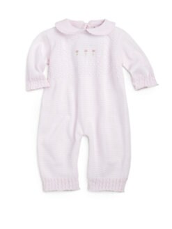 Florence Eiseman - Infant's Striped Knit Coverall