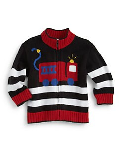 Florence Eiseman - Infant's Fire Truck Sweater