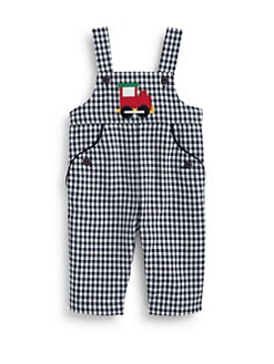 Florence Eiseman - Infant's Woven Check Train Overalls