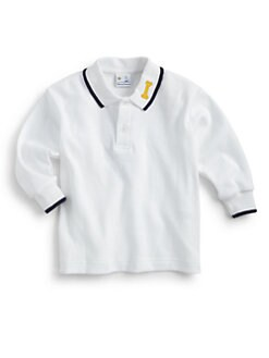 Florence Eiseman - Infant's Long-Sleeve Polo