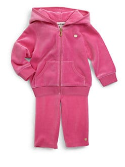 Juicy Couture - Infant's Two-Piece Velour Jog Set