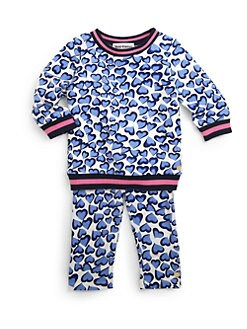 Juicy Couture - Infant's Two-Piece Hearts Top & Leggings Set