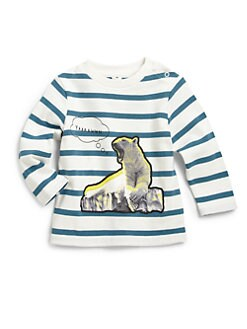 Stella McCartney Kids - Infant's Ted Baby Striped Tee