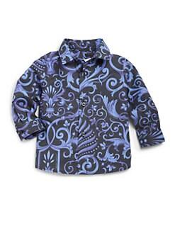 Versace - Infant's Barocco Print Shirt