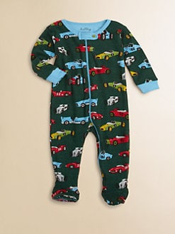 Hatley - Infant's Vintage Car Footie