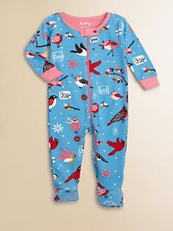 Hatley - Infant's Bird-Print Footie