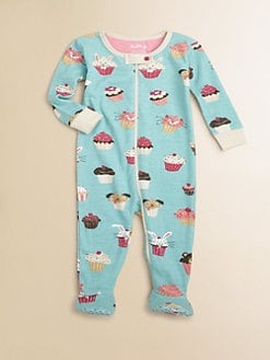 Hatley - Infant's Cupcake-Print Footie