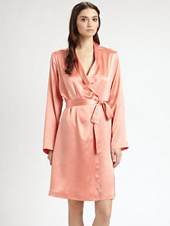 La Perla - Silk Charmeuse Short Robe