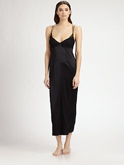 La Perla - Long Stretch Silk Gown