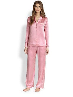 La Perla - Dolce Silk Striped Pajama Set