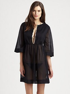 Burberry Brit - Cotton Caftan Coverup