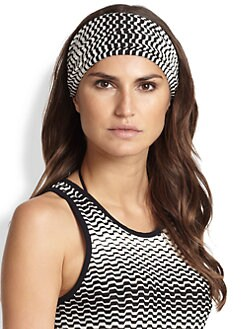 Missoni Mare - Monochrome Chevron Headband