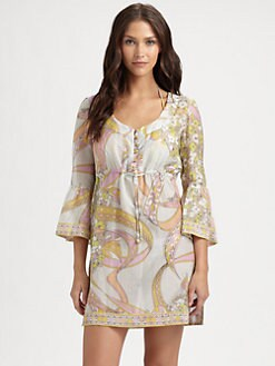 Emilio Pucci - Drawstring-Waist Dress