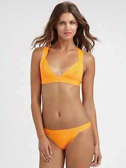 Herve Leger - Two-Piece Halter Bikini
