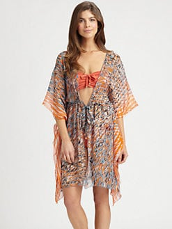 Shan - Reflexion Silk Caftan