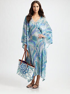 Emilio Pucci - Long Crochet Caftan
