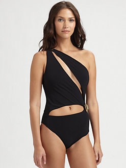 Emilio Pucci - One-Piece Cutout Swimsuit